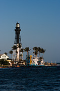 Hillsboro Inlet Lighthouse Print by Ed Gleichman
