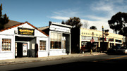 Italian Restaurant Photo Posters - Historic Niles District in California Near Fremont . Main Street . Niles Boulevard . 7D10676 Poster by Wingsdomain Art and Photography