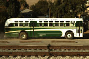 Vintage Buses Photos - Historic Niles District in California Near Fremont . Niles Coach Line Bus . 7D10803 by Wingsdomain Art and Photography