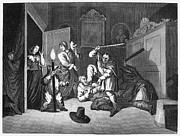 Hogarth Prints - Hogarth: Hudibras, 1726 Print by Granger