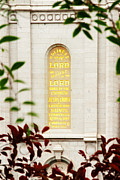 Temple Photos - Holiness to The Lord by La Rae  Roberts