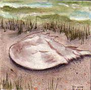 Crab Ceramics - Horseshoe on the Beach by Dy Witt