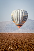 Extreme Sport Framed Prints - Hot Air Balloon Framed Print by Photostock-israel