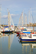 Navigate Framed Prints - Howth harbour Framed Print by Gabriela Insuratelu