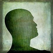 Human Representation Print by Bernard Jaubert