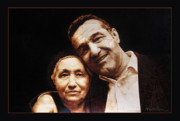 Dino Muradian Pyrography - I Love You MOM  by Dino Muradian