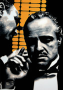 The Godfather Painting Posters - I Want You To Kill him Poster by Luis Ludzska