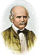 Procedures Prints - Ignaz Semmelweis, Hungarian Print by Science Source