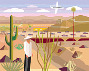 Scottsdale Digital Art - Illustration And Painting by Charles Harker