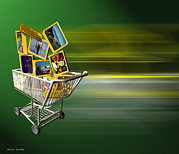 Electronic Photos - Internet Shopping by Victor Habbick Visions