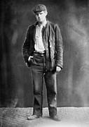 Jack London (1876-1916) Print by Granger