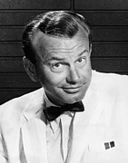 1950s Tv Framed Prints - Jack Paar 1918-2004, American Framed Print by Everett