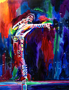 King Of Pop. Dancer Paintings - Jackson Magic by David Lloyd Glover