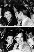 President And First Lady Posters - Jacqueline Kennedy Onassis Poster by Everett