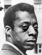 Afro Photos - James Baldwin (1924-1987) by Granger