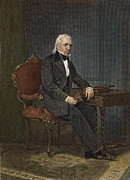 19th Century America Metal Prints - James Knox Polk (1795-1849) Metal Print by Granger