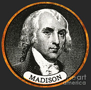 Cultivate Framed Prints - James Madison, 4th American President Framed Print by Photo Researchers