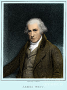 Condenser Framed Prints - James Watt, Scottish Inventor Framed Print by Science Source