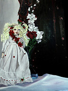 Porcelain Paintings - Jenessa by Jane Autry