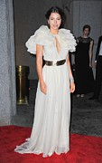 Cipriani Restaurant Wall Street Photos - Jessica Biel Wearing A Giambattista by Everett