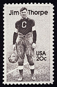 Jim Thorpe (1888-1953) Print by Granger