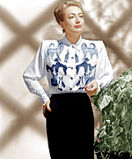 Print Blouse Prints - Joan Crawford, Ca. 1940s Print by Everett
