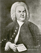 Music Time Posters - Johann Sebastian Bach, German Baroque Poster by Photo Researchers
