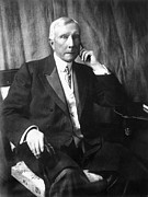 Featured Art - John D. Rockefeller by Granger