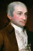 Anti-slavery Photo Framed Prints - John Jay, American Founding Father Framed Print by Photo Researchers