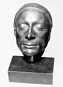 Portrait Sculpture Photograph Prints - John Keats (1795-1821) Print by Granger
