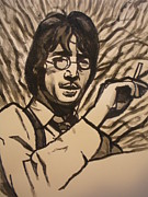 John Lennon Art Drawings - John Lennon  by Jeremiah Cook