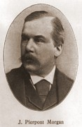 John Pierpont Morgan, 1837-1913 Print by Everett