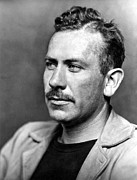 Moustache Framed Prints - John Steinbeck (1902-1968) Framed Print by Granger