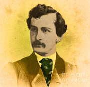 Abolition Photo Posters - John Wilkes Booth, American Assassin Poster by Photo Researchers