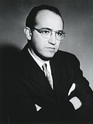 1950s Portraits Metal Prints - Jonas E. Salk 1914-1995, American Metal Print by Everett