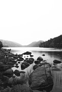 Bar Harbor Acrylic Prints - Jordan Pond Acrylic Print by Becca Brann