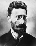 Journalist Framed Prints - Joseph Pulitzer (1847-1911) Framed Print by Granger