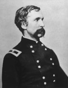 Gettysburg Metal Prints - Joshua Lawrence Chamberlain  Metal Print by War Is Hell Store