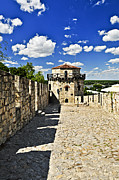 Historic Ruins Framed Prints - Kalemegdan fortress in Belgrade Framed Print by Elena Elisseeva