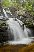 Calming Photos - Kent Falls by Bill  Wakeley