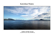 Signed Photo Prints - Ketchikan Waters Print by William Jones