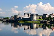 Limerick Framed Prints - King Johns Castle Limerick Ireland Framed Print by Pierre Leclerc