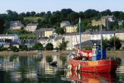 Docked Boat Prints - Kinsale Harbour, Co Cork, Ireland Print by The Irish Image Collection