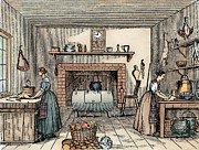 Cookie Prints - KITCHEN, 19th CENTURY Print by Granger