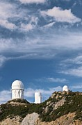University Of Arizona Art - Kitt Peak National Observatory by David Nunuk