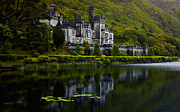Color Green Posters - Kylemore Abbey Poster by Gabriela Insuratelu