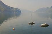 Lago Di Lugano Print by Joana Kruse