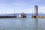 Ferry Photos - Lake Constance Friedrichshafen by Joana Kruse