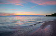 Sleeping Art - Lake Michigan Sunset by Dean Pennala