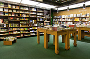 Novels Photos - Large Bookstore Interior by Jaak Nilson